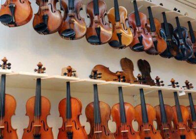 Lucienne van der Lans vioolbouw